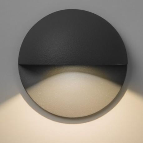 Astro Tivola LED Schodowa 1x2W LED Czarny Struktura IP65 1338001