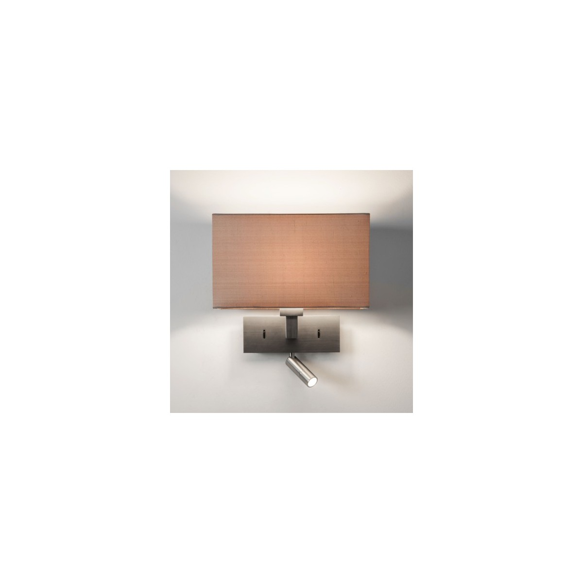 Astro Park Lane Reader LED Do Czytania 1x60W Max E27 Matowy Nikiel 1080030