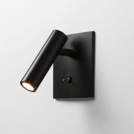 Astro Enna Square Switched LED Do Czytania 4.5W LED Czarny Mat 1058024