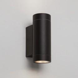 Astro Dartmouth Twin LED Ścienna 8.1W LED Czarny Struktura IP54 1372006