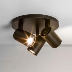ASTRO Ascoli Triple Round reflektor brązowy 1286005