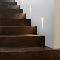 Astro Olympus Trimless LED Schodowa 1x1W LED Biały Struktura 1343002