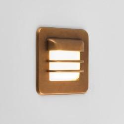 Astro Arran Square LED Schodowa 1x2W LED Mosiądz Antyczny IP65 1379001