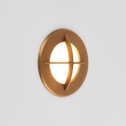 Astro Arran Round LED Schodowa 1x2W LED Mosiądz Antyczny IP65 1379002