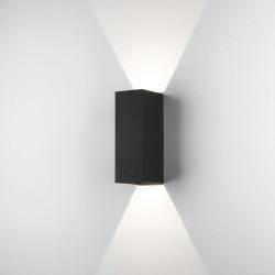 Astro Oslo 255 LED Ścienna 7.5W LED Czarny Struktura IP65 1298007
