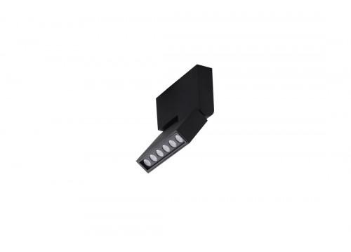 AZzardo LEON LED 12W 1020lm 3000K czarny reflektor AZ3489