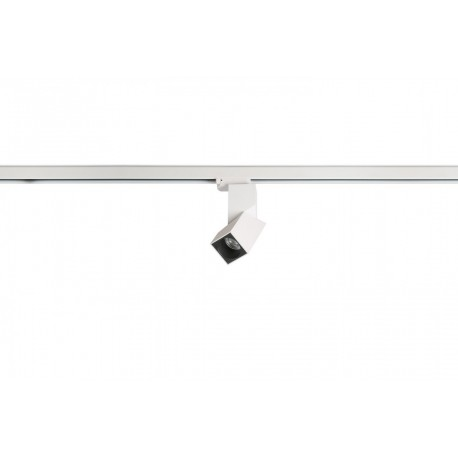 Azzardo SANTOS SQUARE TRACK LED 12W 1020lm 3000K biały reflektor AZ3524
