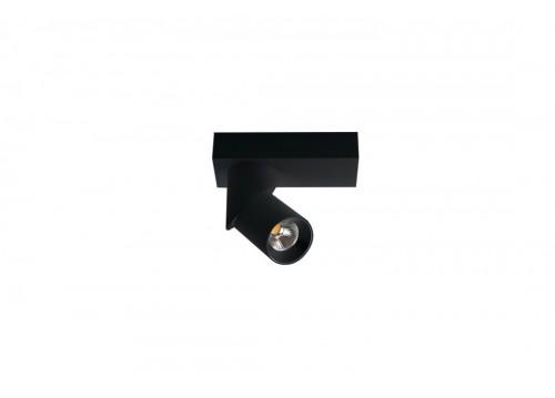 Azzardo SANTOS EXPOSED ROUND LED 12W 1020lm 3000K czarny reflektor AZ3509