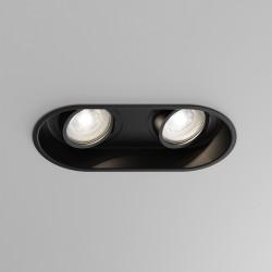Astro Minima Twin Wpuszczana 2x6W Max LED GU10 Czarny Mat 1249029