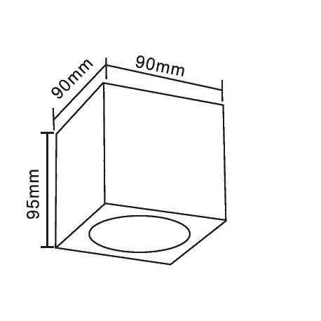 Orlicki Design Cubo Claro 1x50W G9 Wpuszczana