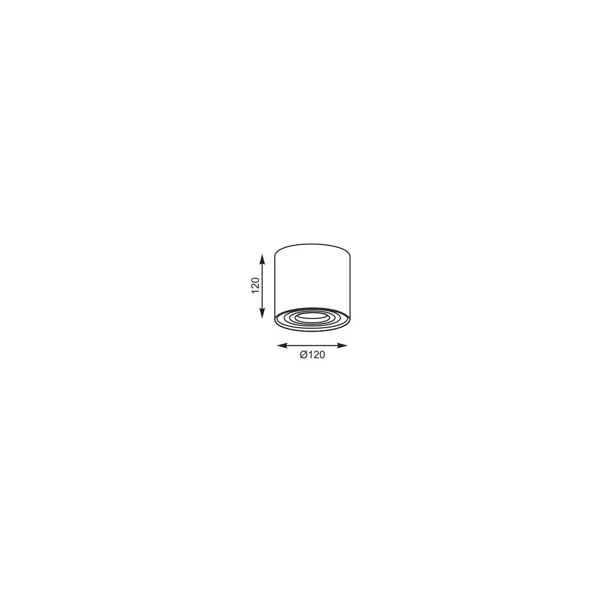 Zuma Line SPOT BOX Biały 50631 Sufitowa