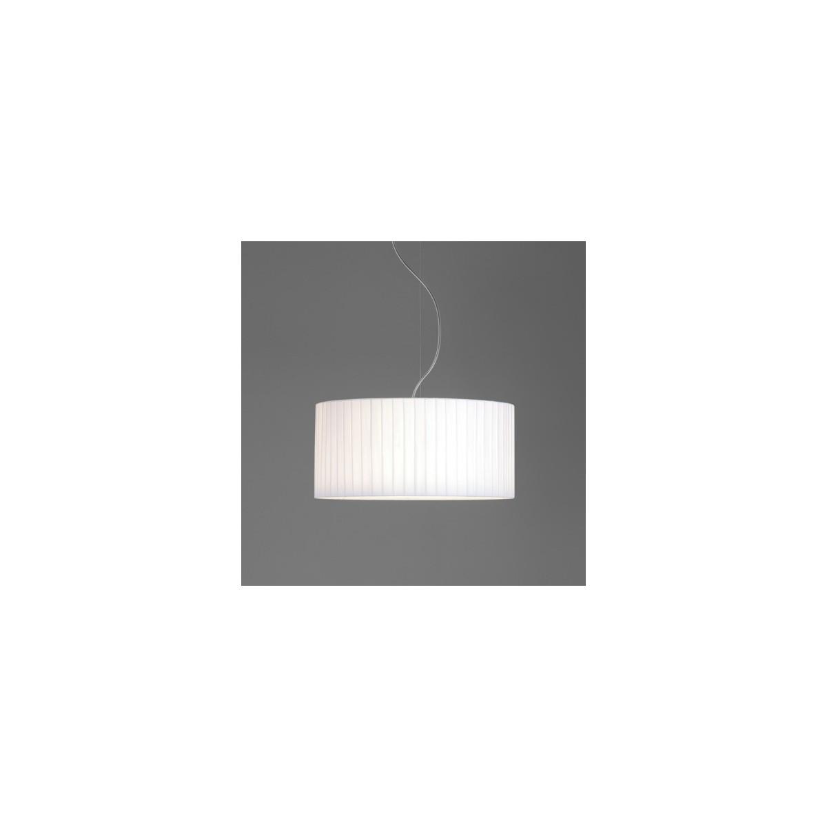 Astro Drum 500 Pleated Abażur Biały 5016016