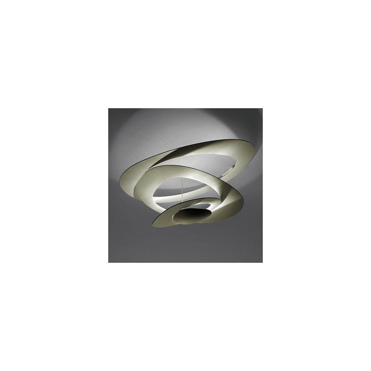Artemide PIRCE SOFFITTO Złoty LED 1253120A Plafon