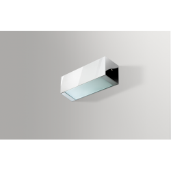 Azzardo ARCHO A ALUMINIUM 1x2G11 Ścienna Aluminium/Biały AZ0199