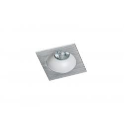 Azzardo HUGO 1 DOWNLIGHT ALUMINIUM 1xGU10 Wpuszczana Aluminium AZ1733