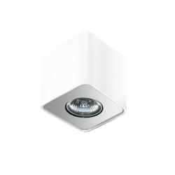 Azzardo NINO 1 WHITE/ALUMINIUM 1xGU10 Natynkowa Biały/Aluminium AZ0598