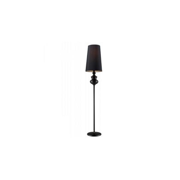 Azzardo BAROCO BLACK FLOOR 1xE27 Podłogowa Czarny AZ0063