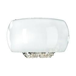 Orlicki Design Lexus Parette Bianco 4xG4 Biały połysk/Chrom/Transparentny