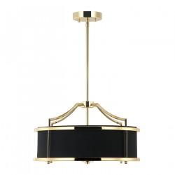 Orlicki Design Stanza Gold Nero S 3xE27 Złoty/Czarny
