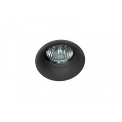 Azzardo IVO BLACK 1xGU10 Wpuszczana Czarny AZ1716
