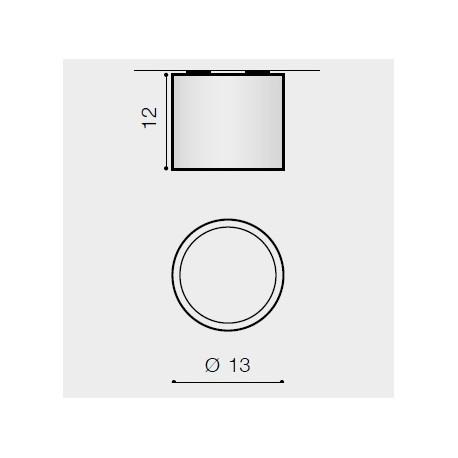 Azzardo ALIX 12V WHITE 1xAR111 Natynkowa Biały AZ1356
