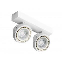 Azzardo JERRY 2 12V WHITE 2xAR111 Reflektor Sufitowy Biały AZ1369