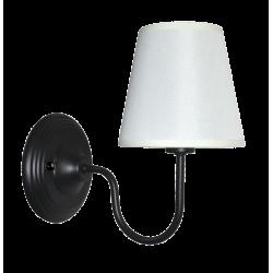 Light Prestige Werona kinkiet E14 czarny, biały LP-88439/1W