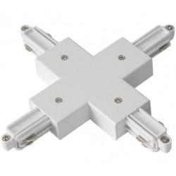 Light Prestige Łącznik biały do szynoprzewodów 1F biały LP-554 WH