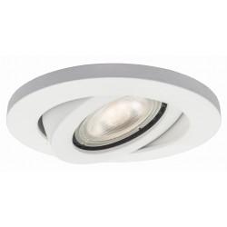 Light Prestige Lagos oczko podtynkowe okrągłe ruchome białe IP20 GU10 biały LP-440/1RS WH movable