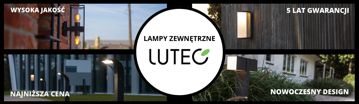 Lutec - Outdoor lighting with 5 years warranty